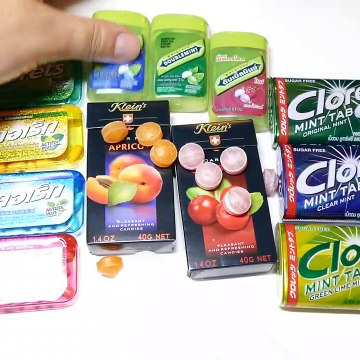 Tic Tac, Klein´s and Clorets Candy Collection Unboxing Video