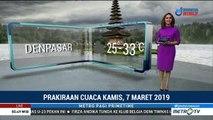 Prakiraan Cuaca: Kamis, 7 Maret 2019