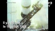 Apollo 11: il y a 50 ans, 3 astronautes décollaient vers la Lune