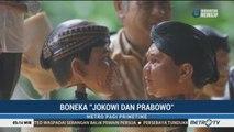 Seniman Asal Surakarta Buat Miniatur Jokowi dan Prabowo