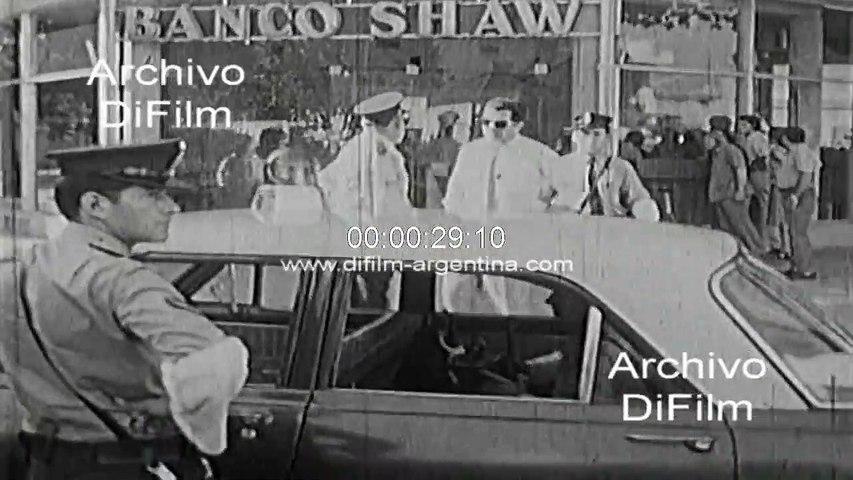 Bank Shaw assault on Avenida Beiro - Buenos Aires 1972