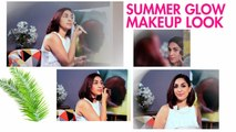 The Best Summer Makeup Tutorial For Indian Skin | Sun Kissed Makeup | Colourpop Makeup Tutorial