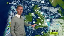 Met Office forecast North West