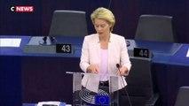 Ursula Von der Leyen se dit prête à un nouveau report du Brexit