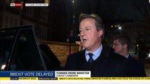 David Cameron says he does not regret holding the referendum