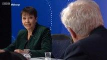 Caroline Lucas tells David Davis 'What the hell were you doing?'