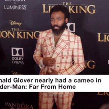 The Donald Glover Cameo Is Recent 'Spider-Man' Movies