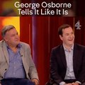 'Fuck knows' Former foes George Osborne and Ed Balls have identical response when asked about future of Brexit