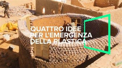 4 idee per affrontare l'emergenza plastica