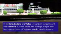 How to claim compensation if your train is late