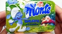 German Sweets   Nestle Mars, M&M's and Monte Smurfs Dessert