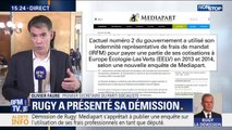 """Pour Olivier Faure, la position de François de Rugy: """"était devenue indéfendable"""" après les révélations de Mediapart"""