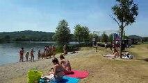 La base de loisirs Le Grand bleu de Pont-à-Mousson prêt pour les jours de chaleur