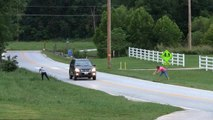 Fake Rope Road Prank