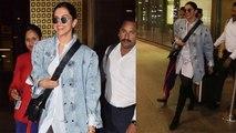 Deepika Padukone looks stunning at Mumbai airport; Watch Video | Boldsky