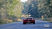 Dodge Viper GTS Heffner 650 vs Ferrari Testarossa - LOUD fly by-- - 1080p HD