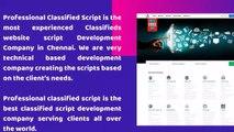 Classifieds website script - Classifieds Script - Classified software - Classifieds Listing Software
