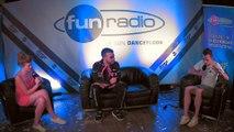 Don Diablo en interview dans le studio de Fun Radio à l'EMF 2019
