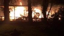 Fareham barn fire shocks family living next door to inferno