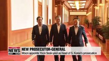 President Moon appoints Yoon Seok-yeol as Prosecutor-General,... rival political parties clash over appointment