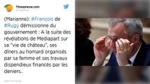 François de Rugy présente sa démission du gouvernement, Emmanuel Macron l'accepte