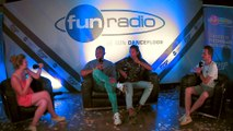 Sunnery James & Ryan Marciano en interview dans le studio de Fun Radio à l'EMF 2019
