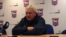 Steve Bruce hails the Owls after Ipswich win