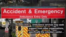 How ambulance service respond to emergencies