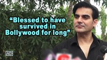 Blessed to have survived Bollywood for long: Arbaaz