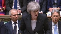 Theresa May defends record on police spending during PMQs