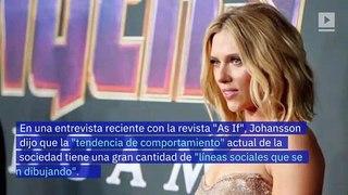Scarlett Johansson piensa que la corrección política restringe el arte