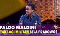 Faldo Maldini Tak Lagi Militan Bela Prabowo? - ROSI