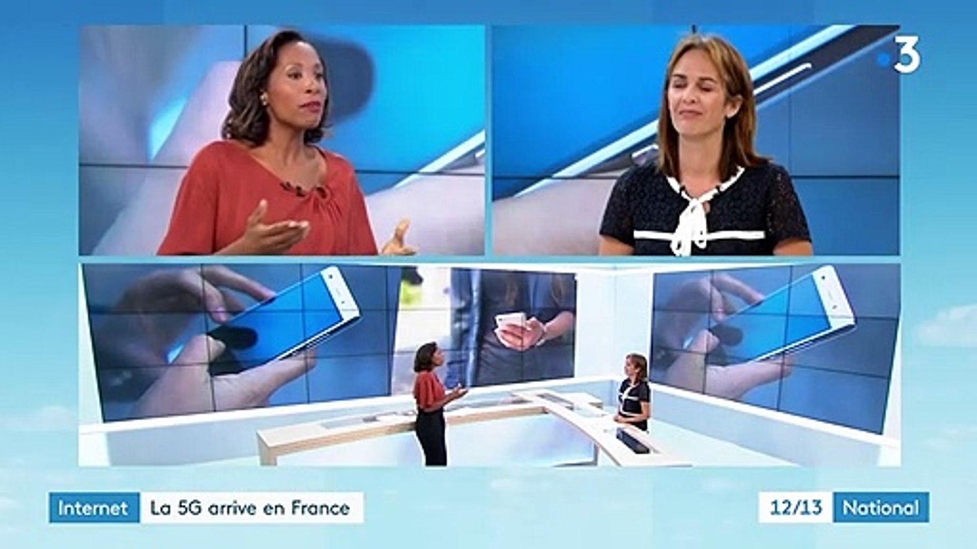 Internet : la 5G arrive en France