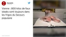 Vienne : 800kg de «faux steaks» encombrent encore le Secours populaire