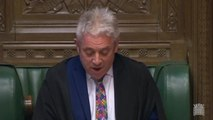 John Bercow on third meaningful vote