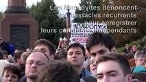 Moscou: manifestation de l'opposition pour enregistrer ses candidats