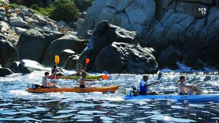 Journée kayak pour les bleus à Propriano !