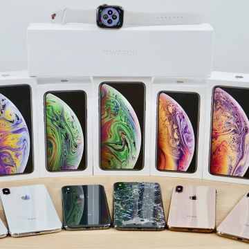 iPhone XS, XS Max - Apple Watch 4 Unboxing- All Colors