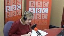 Emma Barnett challenged Amber Rudd on rising food bank use