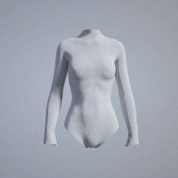 The fibers of this futuristic bodysuit contain bacteria that reduce body odor