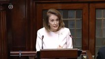 Nancy Pelosi says US congress would not accept hard-border in Northern Ireland