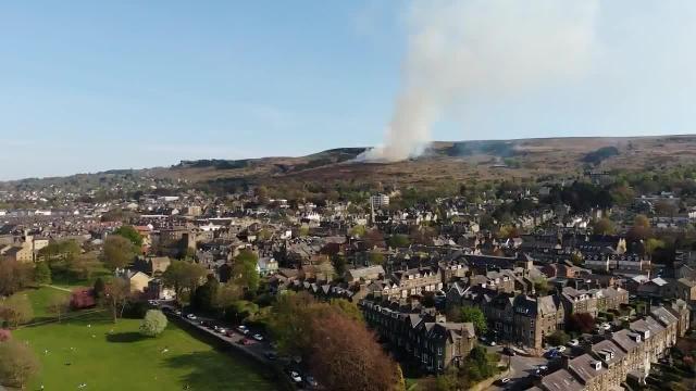 Ilkley Moor fire