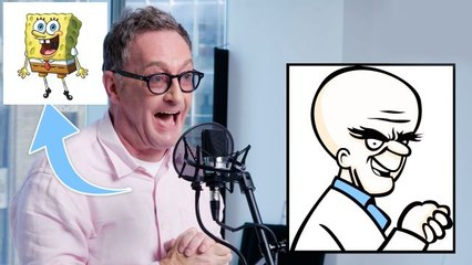 Tom Kenny (SpongeBob) Improvises 5 New Cartoon Voices