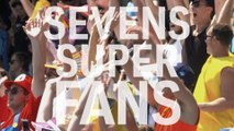 The Sevens Super Fans from across the world
