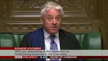 John Bercow rejects the suggestion a future PM could prorogue Parliament