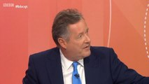 Piers Morgan rows with QT audience member about proroguing parliament