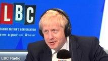 Boris Johnson refuses to answer questions from Nick Ferrari