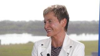 Retired NASA astronaut Peggy Whitson on significance of Apollo 11