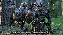 3 Rifles in NATO exercise in Lithuania