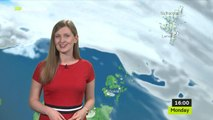 MET Office Weather Report - Scotland - Monday 15th July